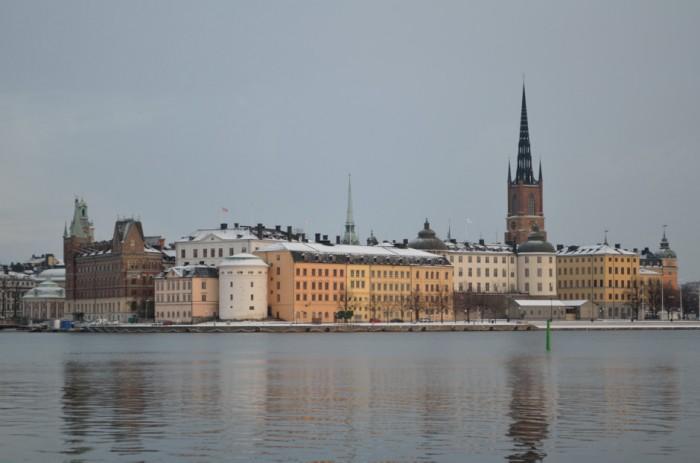 Panorámica parte vieja Estocolmo